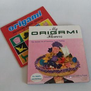 VTG origami paper folding books | printed in Japan